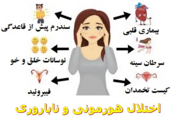 اختلال هورمونی و ناباروری